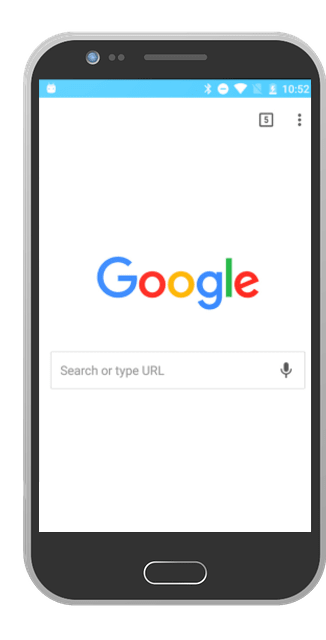 mobile phone google search